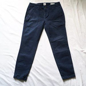 Gap Skinny Ankle Utility Chinos size 0P